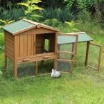 Kaninchen Haltung und Unterkünfte