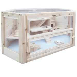 Hamsterkäfig Holz von Habau