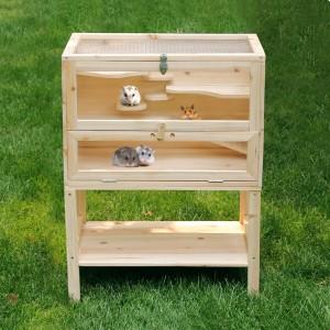 Hamsterkäfig Holz von Songmics