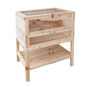 Hamsterkäfig Holz XXL von Serina