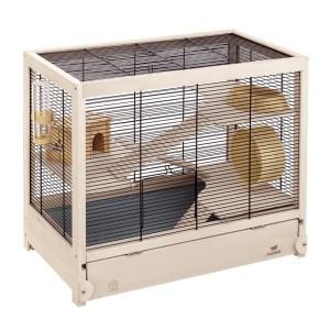 Hamsterkäfig kaufen - Ferplast Holzhamsterheim – Hamsterville