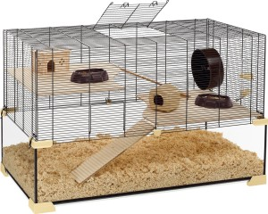 Hamsterkäfig kaufen - Ferplast Nagarium Karat mit Komplettausstattung