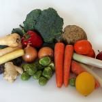 Kaninchen Haltung Gute Verdauung und frisches Gemüse