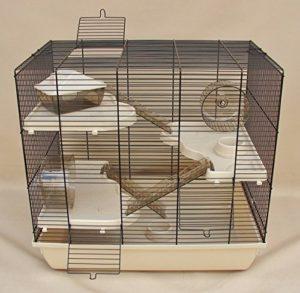 "Nagerkäfig kaufen: Nagerkäfig,Hamsterkäfig,Käfig, Teddy Gigant II ""Vollausstattung"" beige"